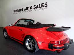 1987 porsche 911 slant nose 1987 porsche 911 turbo factory slantnose cabriolet
