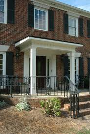 Front Porches On Colonial Homes How Much Does It Cost To Build A Front Porch Front Porches