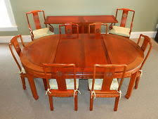 Mahogany Dining Room Table And 8 Chairs Mahogany Dining Room Set Ebay