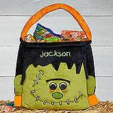personalized trick or treat bags personalized treat bags totes personalizationmall