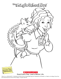 magic bus coloring pages magic bus coloring free
