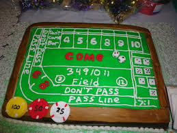 Craps Table Craps Table Cake Cakecentral Com