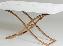 rose gold console table julietta white rose gold and crocodile console table crocodile table