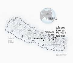 Map Of Everest Sherpas The Invisible Men Of Everest U2013 They Carry The Heaviest