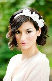wedding hair with headband 25 wedding hairstyles for hair brit co