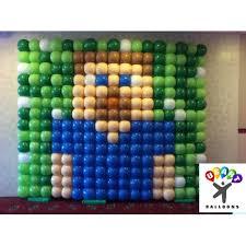 minecraft balloons balloon wall miniecraft