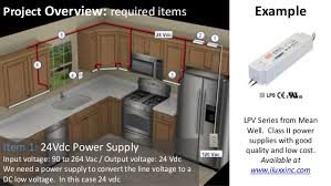 low voltage cabinet lighting under cabinet lighting uc2 series from iluxx installation guide
