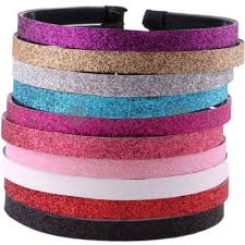 glitter headbands white plastic glitter headbands sports