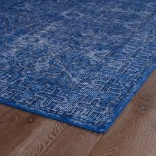 Rug Restoration Amazon Com Kaleen Rugs Restoration Collection Res04 17 Blue Hand