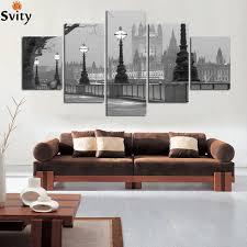 modulare k che schwarz weiß stadt landschaft landschaftsmalerei leinwand poster