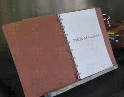 mon cahier de cuisine mon cahier de recettes tante bea is in the kitchen