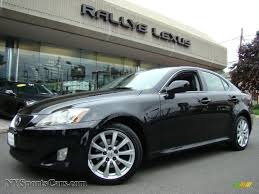 obsidian color lexus 2007 lexus is 250 awd in obsidian black 014343 nysportscars