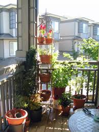 outdoor and patio balcony garden ideas mixed with wooden