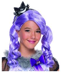 ever after kitty cheshire girls wig tv show costumes