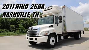 for sale 2011 hino 268a 24 u0027 thermo king reefer stock 0350550