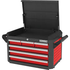 Kennedy Tool Box Side Cabinet Kennedy Pro Red 28