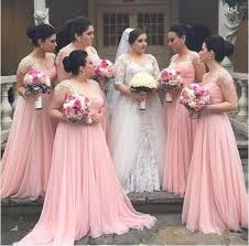 pink bridesmaid dresses 2017 new vestido madrinha pink bridesmaid dresses chiffon