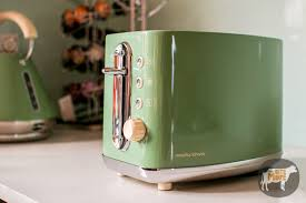 Green Kettles And Toasters Morphy Richards Elipta 60s Kettle U0026 Toaster Onebitemore