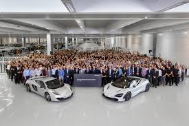 first customer mclaren 720s roars off the assembly line