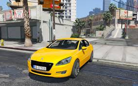 peugeot yellow peugeot 508 gta5 mods com