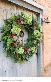how to make a christmas wreath by kirstie allsopp wear u0026 where