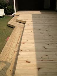 wrap around deck flat deck with wrap around steps1 rl fence u0026 decks