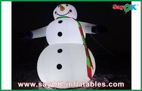 outdoor 5m lighting snowman decoration