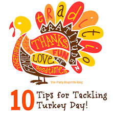 10 tips for the thanksgiving to do list