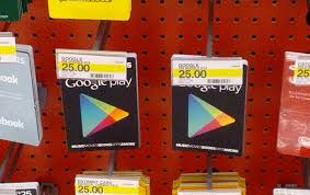 store gift cards play store gift cards already available and on display at