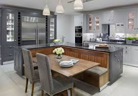 20 beautiful kitchen islands with beautiful kitchen islands with bench seating designing idea