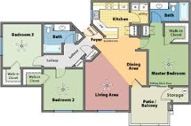 Hacienda Floor Plans 24006 C3 1 Sanhacienda Gif