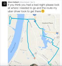 Lsu Parking Map Drunk Lsu Gets Taken On 276 57 Uber Ride To Go 1 4 Miles