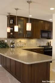 Hanging Kitchen Light Fixtures Kitchen Hanging Kitchen Lights And 6 Kitchens With Dark Cabinets