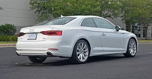 a5 audi horsepower 2018 audi a5 coupe 2 0t quattro prestige review test drive