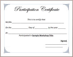 6 word certificate template outline templates