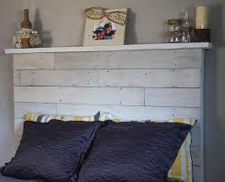 how to make your own diy pallet headboard