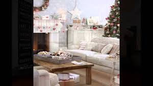 simple ways decorate a living room for christmas youtube