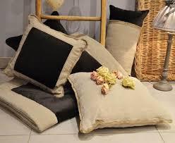 coussin déco canapé coussin déco canapé fait en luxe pas cher gris