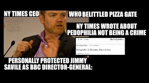 Jimmy Savile Meme - ny times ceo was same bbc exec who defended pedo jimmy savile