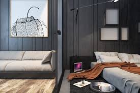 Low Profile Furniture by Small Apartments That Go Big With Bold Decor Themes