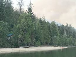 Bc Wildfire Interface by Structure Protection Units Deployed To Save Cabins At Grain Creek