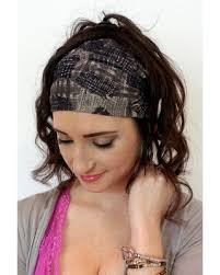 silk headband amazing shopping savings wide headband wrap womens headband black