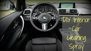 Car Interior Smells Interior Car Cleaning Spray Diy Overthrow Martha