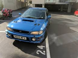 classic subaru used 2000 subaru impreza turbo 2000 awd for sale in dorset