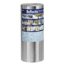 Plastic Vapor Barrier Lowes by Shop Reflectix 50 Sq Ft Reflective Roll Insulation 24 In W X 25