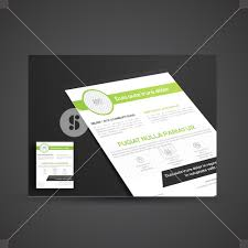 one page brochure template one page brochure template or flyer design for business royalty