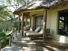 exteriors contemporary small veranda decor with brown wood deck
