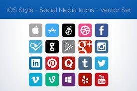 for sale social media icons u2013 vector set garrett gee