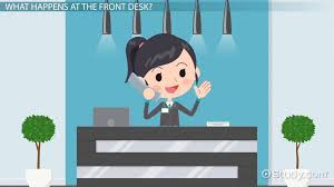 Front Desk Hotel Responsibilities Hotel Front Office Functions U0026 Responsibilities U0026 Lesson