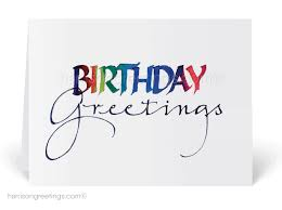 business birthday cards happy birthday greeting card 3805 harrison greetings business